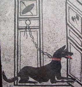 Охранная собака. Геркуланум