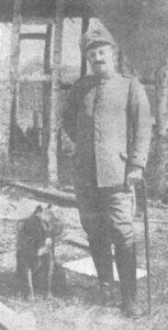Собака, которая была награждена железным крестом